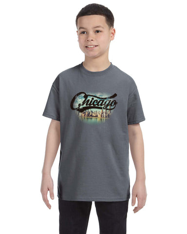 Chicago Skyline YOUTHS' T-SHIRT
