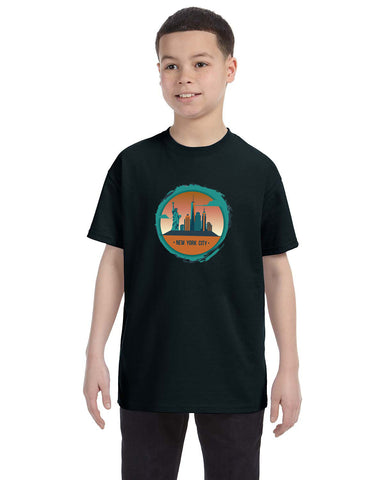 Views in New York YOUTHS' T-SHIRT