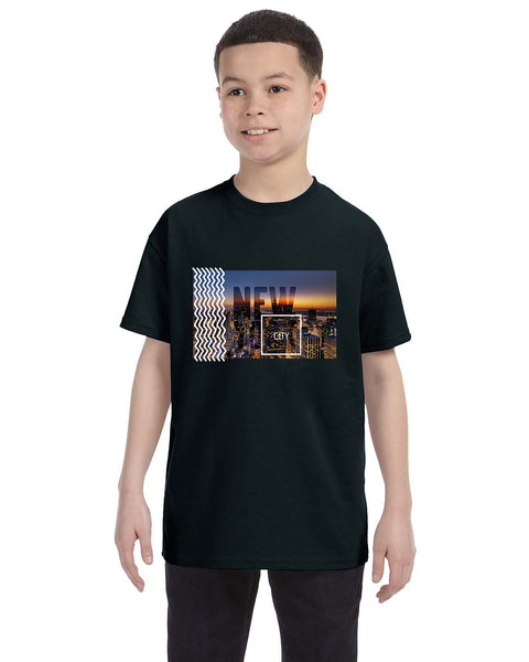 New York Twilight YOUTHS' T-SHIRT