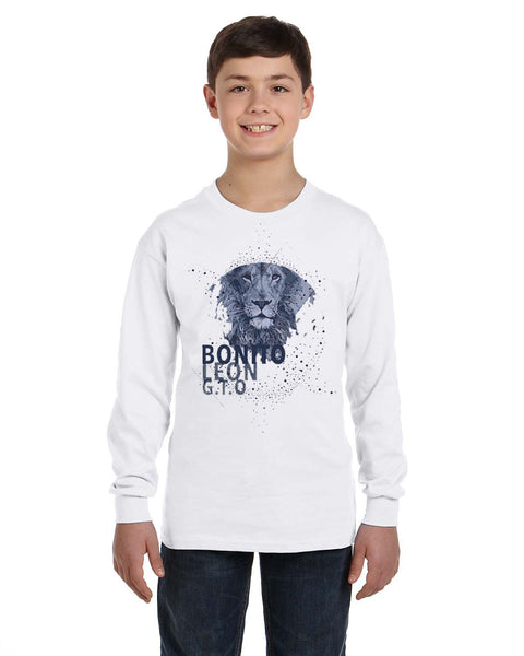 Beautiful leo YOUTHS' LONG-SLEEVED