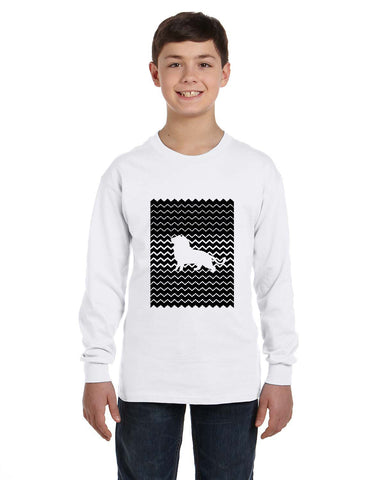 Magnificent Lion YOUTHS' LONG-SLEEVED