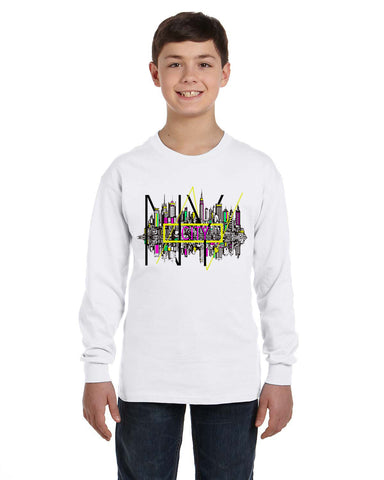 Complicated Time YOUTHS' LONG-SLEEVED