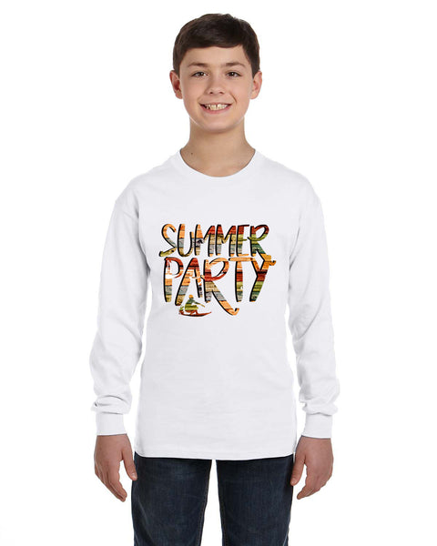 Summer Party YOUTHS' LONG-SLEEVED