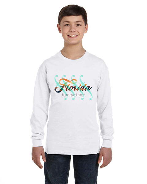 Florida Sweet Home YOUTHS' LONG-SLEEVED