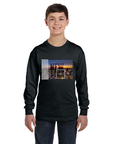 New York Twilight YOUTHS' LONG-SLEEVED