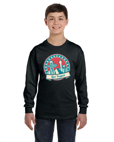 60's Las Vegas YOUTHS' LONG-SLEEVED