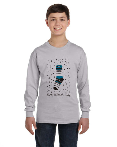 Socks Dad YOUTHS' LONG-SLEEVED