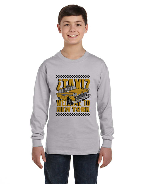 Viva Hey Taxi YOUTHS' LONG-SLEEVED