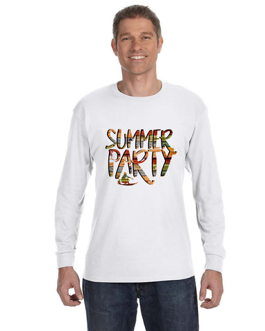 Summer Party MEN'S LONG-SLEEVED