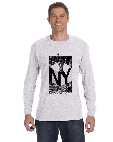 New York NOW MEN'S LONG-SLEEVED