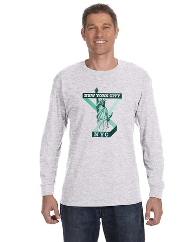 Town of Liberty MEN'S LONG-SLEEVED