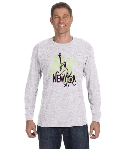 Paint your NYC MEN'S LONG-SLEEVED