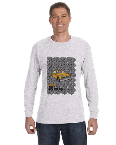 Super Taxi Wey in NY MEN'S LONG-SLEEVED