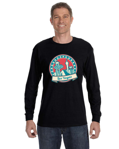 60's Las Vegas MEN'S LONG-SLEEVED