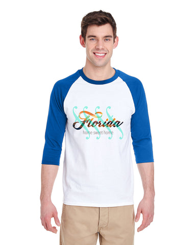 Florida Sweet Home MEN'S 3/4 SLEEVED RAGLAN