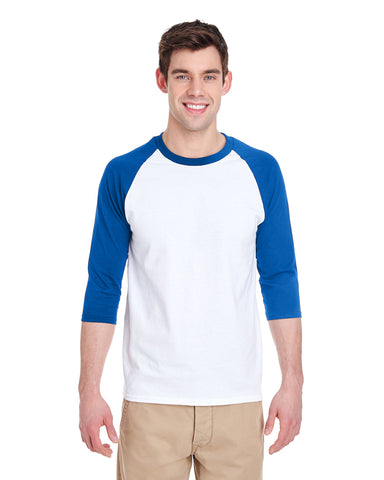 MEN'S 3/4 SLEEVED RAGLAN