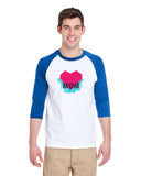 Atom Heart Mother MEN'S 3/4 SLEEVED RAGLAN