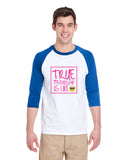 True Friendship MEN'S 3/4 SLEEVED RAGLAN