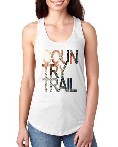 Country Trail LADIES' TANK TOP