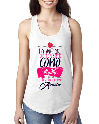Love Mom LADIES' TANK TOP
