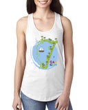 Cancun Boat LADIES' TANK TOP