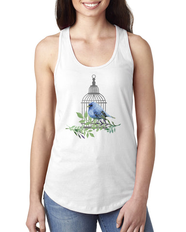 Bird Cage LADIES' TANK TOP