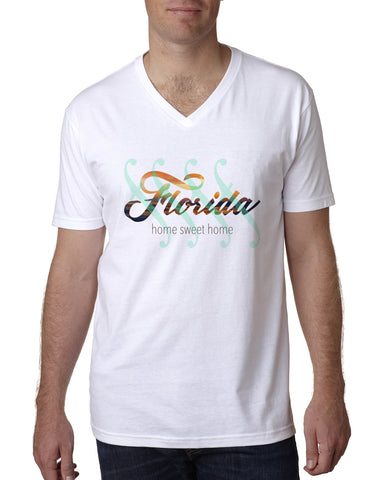 Florida Sweet Home MEN'S V-NECK T-SHIRT