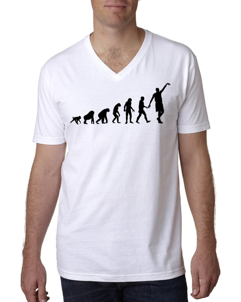 Human revolution MEN'S V-NECK T-SHIRT