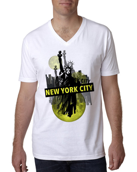 Viva NY MEN'S V-NECK T-SHIRT