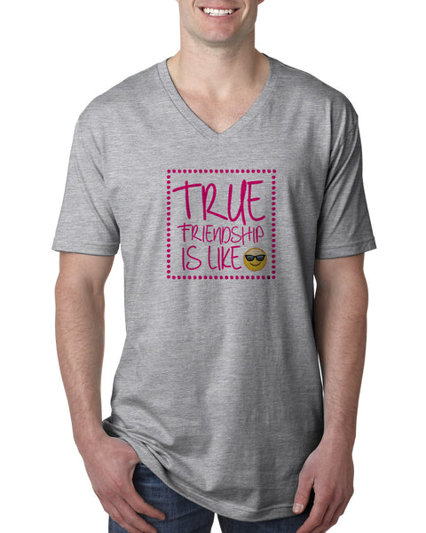 True Friendship MEN'S V-NECK T-SHIRT