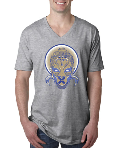Buda MEN'S V-NECK T-SHIRT