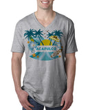 Acapulco Coconut Tree MEN'S V-NECK T-SHIRT