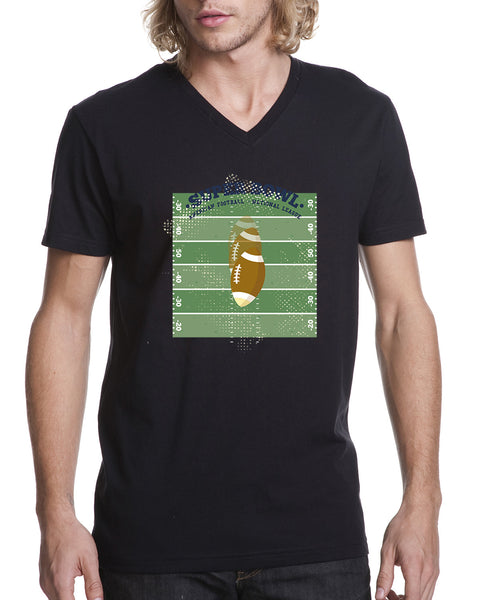 Super Bowl GO MEN'S V-NECK T-SHIRT