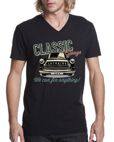Classic 365 MEN'S V-NECK T-SHIRT