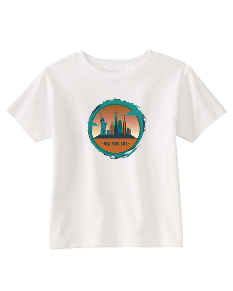 Views in New York TODDLERS' T-SHIRT