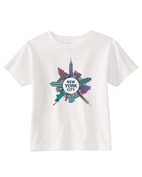 Getting Around in NYC TODDLERS' T-SHIRT