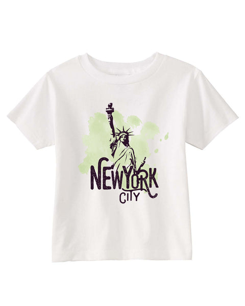 Paint your NYC TODDLERS' T-SHIRT
