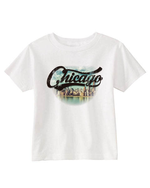 Chicago Skyline TODDLERS' T-SHIRT