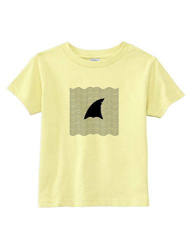 New S. Beach shark TODDLERS' T-SHIRT