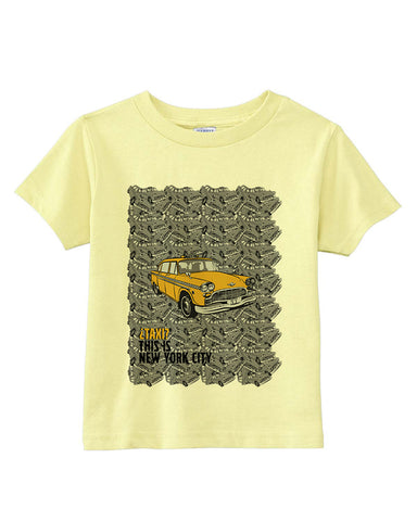 Super Taxi Wey in NY TODDLERS' T-SHIRT