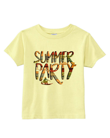 Summer Party TODDLERS' T-SHIRT