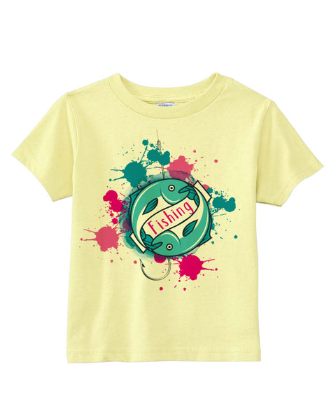 Fishing TODDLERS' T-SHIRT