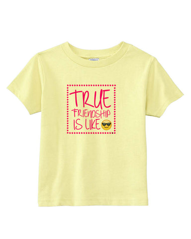 True Friendship TODDLERS' T-SHIRT