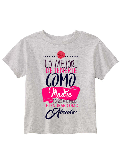 Love Mom TODDLERS' T-SHIRT