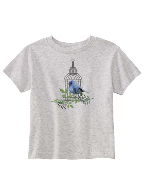 Bird Cage TODDLERS' T-SHIRT