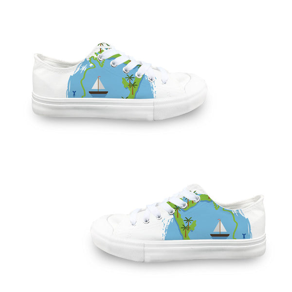 Cancun Boat LADIES' LOW-TOP SNEAKERS