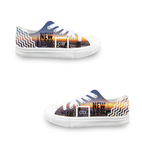 New York Twilight LADIES' LOW-TOP SNEAKERS
