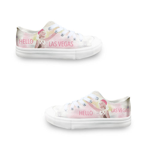 Hello LV LADIES' LOW-TOP SNEAKERS