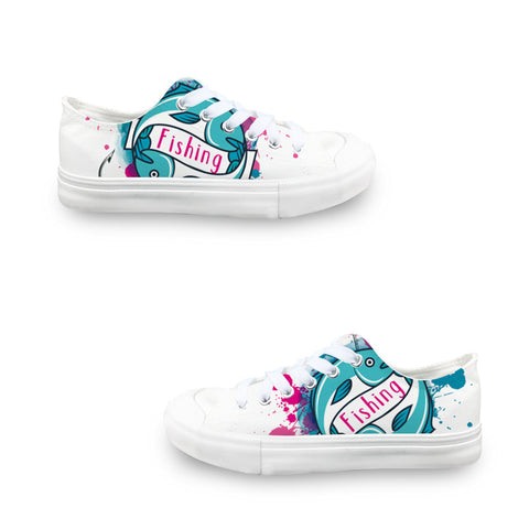 Fishing LADIES' LOW-TOP SNEAKERS