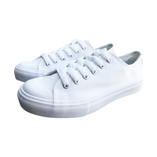 Black White Horse LADIES' LOW-TOP SNEAKERS